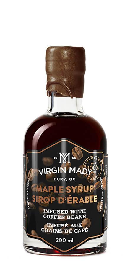 Sirop d'érable infusé au café Virgin Mady